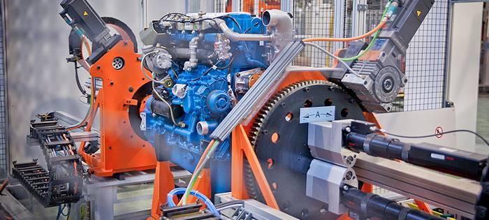 Сборка двигателя ЯМЗ-530
